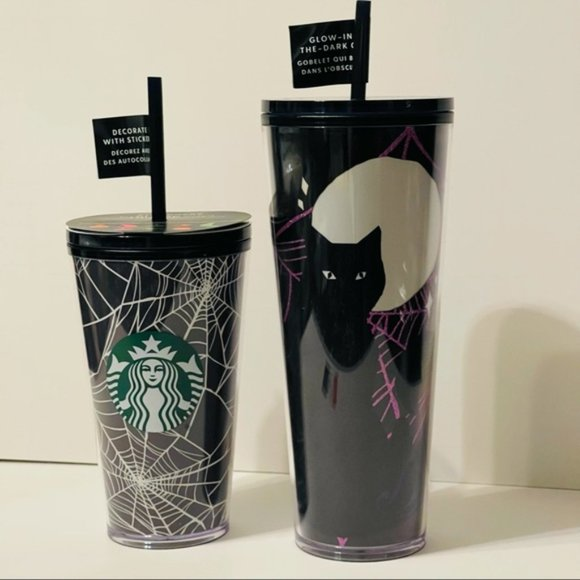 Starbucks Fall 2021 Halloween glow in the dark cups limited edition